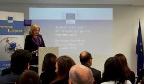 Mme. Corina Crețu, Commissaire européenne à la politique régionale