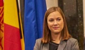 Anne Defourny, l'Attachée économique et commerciale de l'AWEX et de Bruxelles Invest & Export (BIE) pour la Roumanie et la République de Moldova