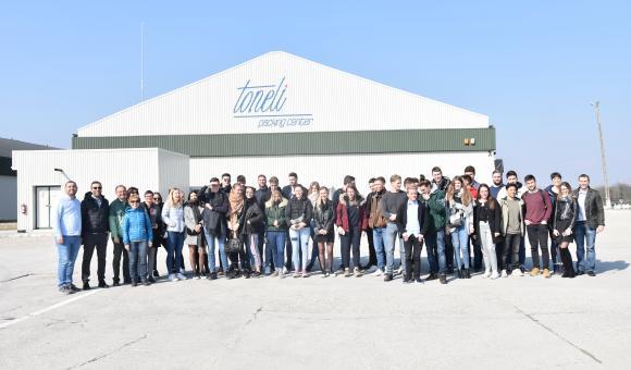 Visite de l'entreprise Toneli